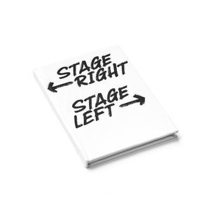 Stage Right Stage Left - Journal - Ruled Line Journal Paper Products