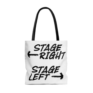 Stage Right Stage Left - Tote Bag Bags