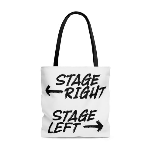 Stage Right Stage Left - Tote Bag Large Bags