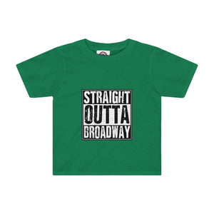 """Straight Outta Broadway"" - Kids Tee - Theatre Geek Shirts & Apparel"