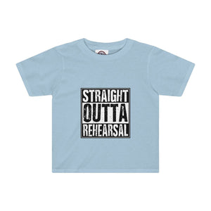 """Straight Outta Rehearsal"" - Kids Tee - Theatre Geek Shirts & Apparel"