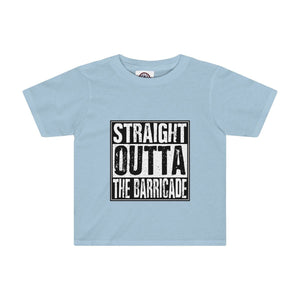 """Straight Outta The Barricade"" - Kids Tee - Theatre Geek Shirts & Apparel"