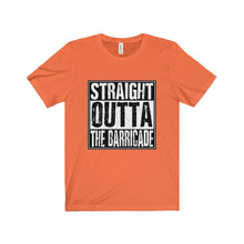 Straight Outta The Barricade - Unisex Jersey Short Sleeve Tee Orange / Xs T-Shirt