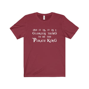 The Pirate King (Pirates Of Penzance) - Unisex Jersey Short Sleeve Tee Cardinal / Xs Men Women T-Shirt