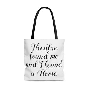 Theatre Found Me - Tote Bag Large Bags