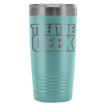 Theatre Geek - 20Oz Stainless Steel Insulated Tumblers Light Blue Tumblers