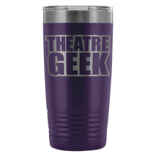 Theatre Geek - 20Oz Stainless Steel Insulated Tumblers Purple Tumblers