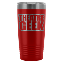Theatre Geek - 20Oz Stainless Steel Insulated Tumblers Red Tumblers