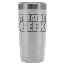 Theatre Geek - 20Oz Stainless Steel Insulated Tumblers White Tumblers