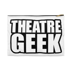 Theatre Geek - Accessory Pouch Large / Black Bags