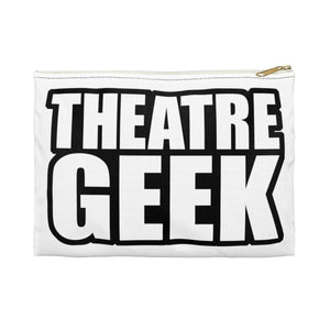 Theatre Geek - Accessory Pouch Small / White Bags
