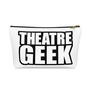 Theatre Geek - Accessory Pouch With T-Bottom Black / Large Bags