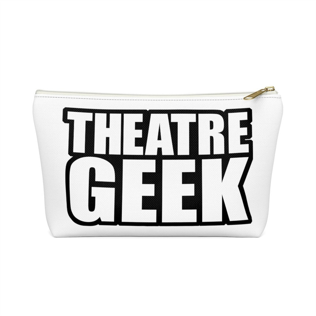 Theatre Geek - Accessory Pouch With T-Bottom White / Small Bags