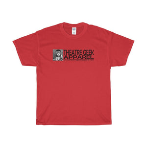 Theatre Geek Apparel - Unisex Heavy Cotton Tee Red / S Men Women T-Shirt