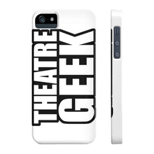 Theatre Geek - Case Mate Slim Phone Cases Iphone 5/5S/5Se Slim Phone Case