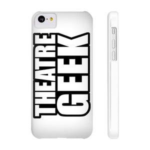 Theatre Geek - Case Mate Slim Phone Cases Iphone 5C Slim Phone Case