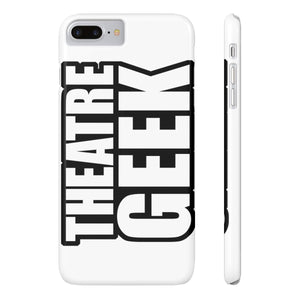Theatre Geek - Case Mate Slim Phone Cases Iphone 7 Plus Iphone 8 Plus Slim Phone Case
