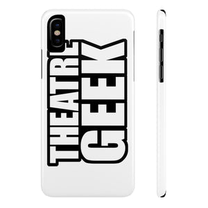 Theatre Geek - Case Mate Slim Phone Cases Iphone X Slim Phone Case