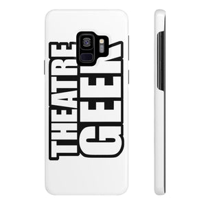 Theatre Geek - Case Mate Slim Phone Cases Samsung Galaxy S9 Slim Phone Case