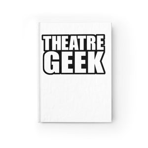 Theatre Geek - Journal - Ruled Line Paper Products