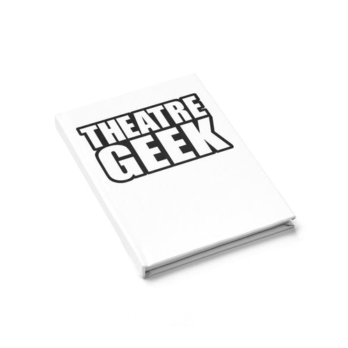 Theatre Geek - Journal - Ruled Line Journal Paper Products