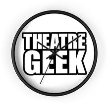 Theatre Geek - Wall Clock 10 In / Black / Black Home Decor