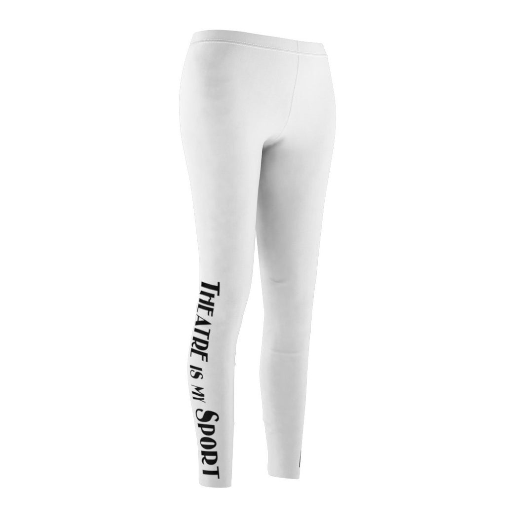 Theatre Is My Sport - Womens Casual Leggings Xs Women All Over Prints
