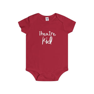 """Theatre Kid"" - Infant Rip Snap Tee - Theatre Geek Shirts & Apparel"