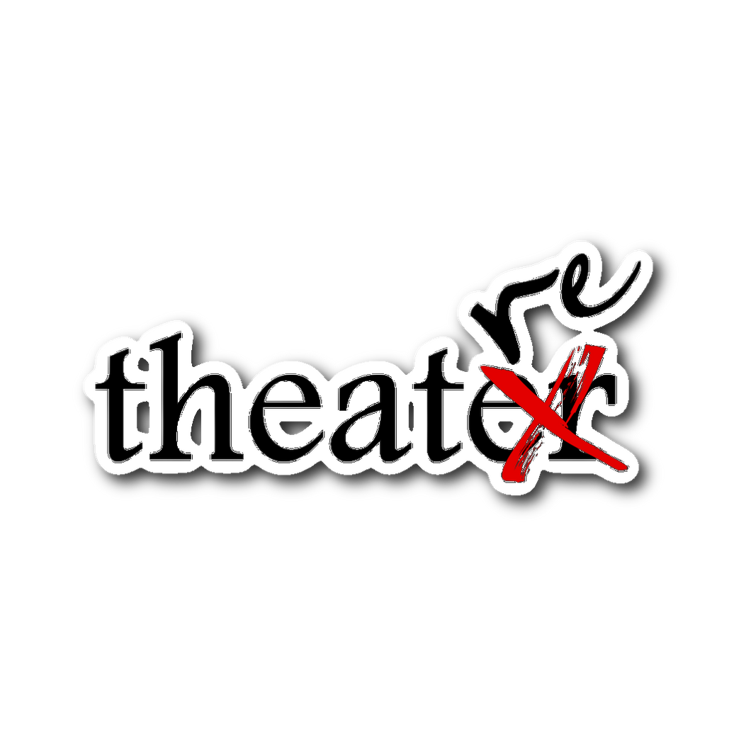 Theatre Sticker Sticker Stickers