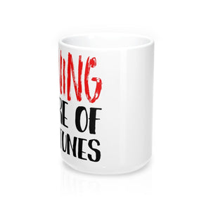 Warning Beware Of Show Tunes - Mugs 15Oz Mug