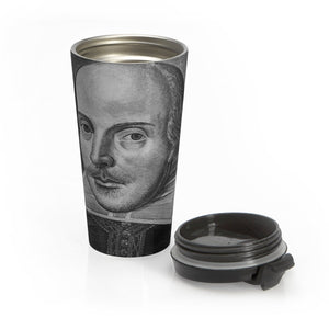 William Shakespeare - Stainless Steel Travel Mug