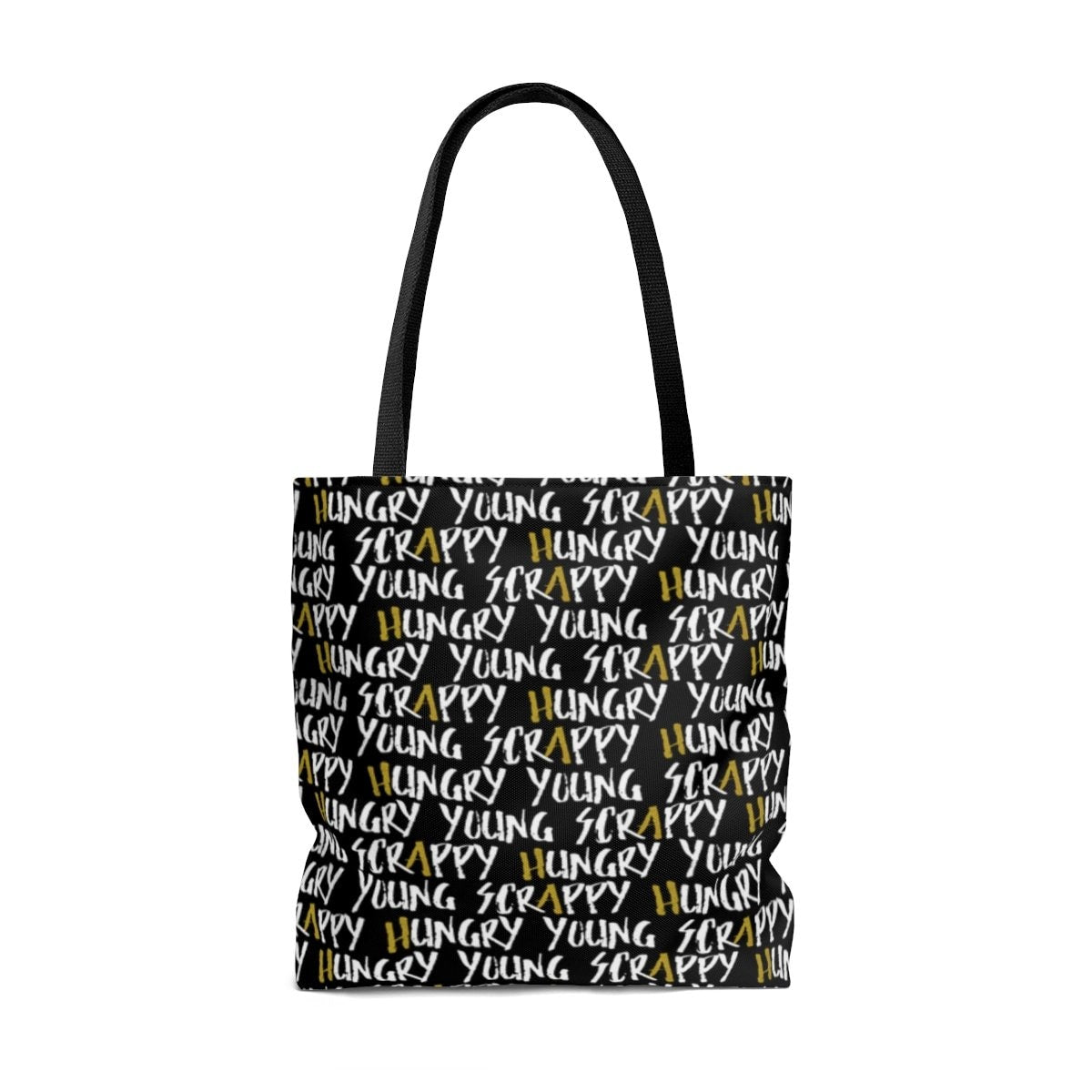112d990ed7f179 Young Scrappy and Hungry (Hamilton) - Tote Bag – Theatre Geek Apparel
