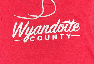 Wyandotte County Hoodie - Heather Red