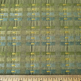 Stacked Coins in Greens Fabric