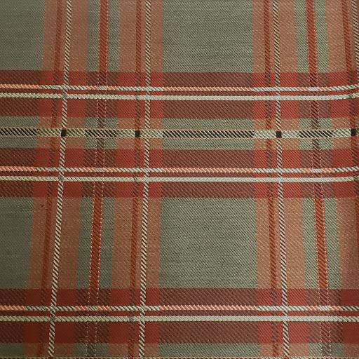 Red Tartan Fabric