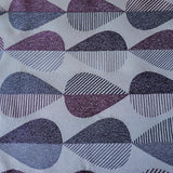 Sideways Raindrops Fabric