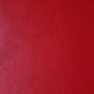 Royal Red Faux Leather