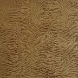 Camel Snake Faux Leather Foot Long