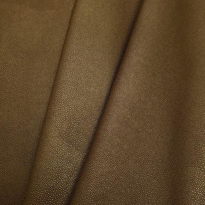 Golden Brown Stingray Faux Leather Foot Long