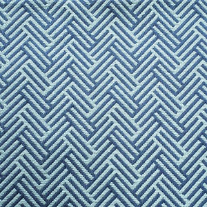 Herringbone Blues Fabric