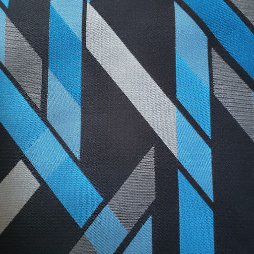 Blue Bridges Fabric