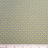 Lime Checker Fabric