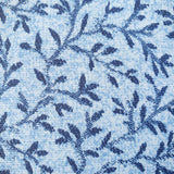 Blue Sprig Patterned Vinyl