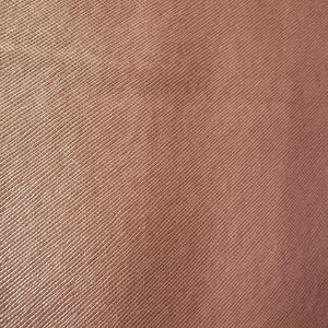 Shimmering Peach Metallic Faux Leather