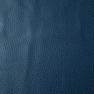 Grained Lake Blue Faux Leather