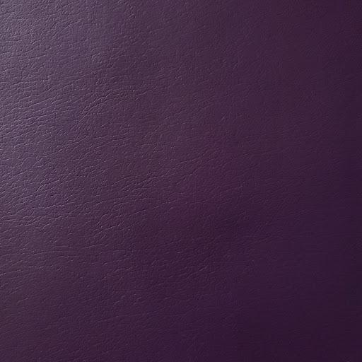 Aubergine Faux Leather Foot Long