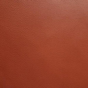 Rust Faux Leather Foot Long