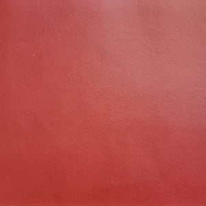 Tomato Red Faux Leather
