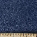 Navy Faux Leather Foot Long