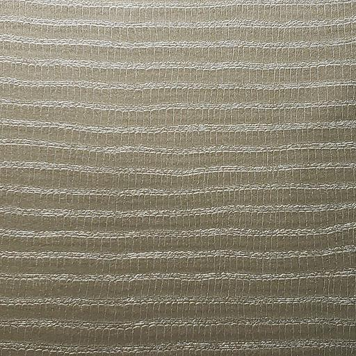 Platinum Stripe Faux Leather